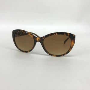 Foster Grant Sunglasses Round Cat Eye Brown New